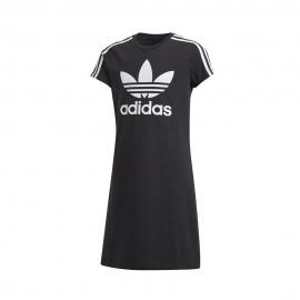 ADIDAS originals abito sportivo logo nero bambina