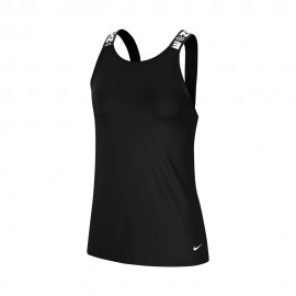 Nike Canotta Palestra Elstika Nero Donna