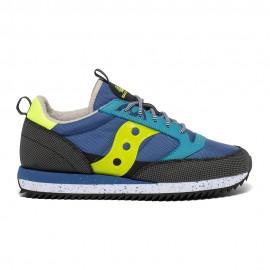 Saucony Sneakers Jazz O Peak Blu Giallo Uomo