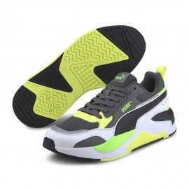 Puma Sneakers X-Ray 2 Square Bianco Verde Uomo