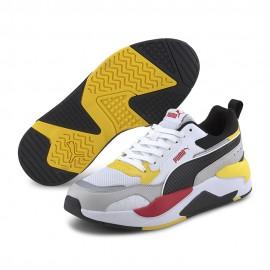 Puma Sneakers X-Ray 2 Square Bianco Rosso Uomo
