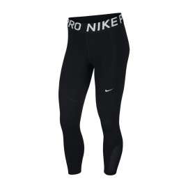 Nike Leggings Sportivi Crop Pro Nero Donna