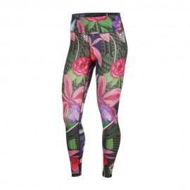 Nike Leggings Sportivi Fantasia Multicolore Donna