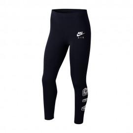 Nike Leggings Sportivi Logo Nero Bambina