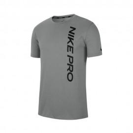 Nike Maglietta Palestra Nike Pro Grigio Uomo
