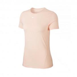 Nike Maglietta Palestra Logo Rosa Donna