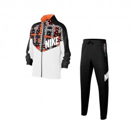 Nike Tuta Sportiva Bambino Logo Scatola Nero Bambino