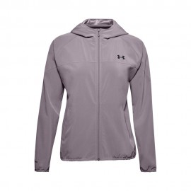 Under Armour Felpa Palestra Wovent Rosa Donna