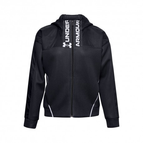 Under Armour Felpa Palestra Nero Donna