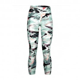 Under Armour Leggings Sportivi Fantasia Celeste Donna