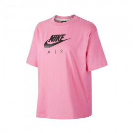 Nike T-Shirt Over Air Rosa Donna