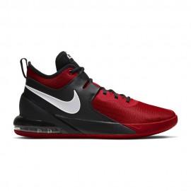 Nike Scarpe Basket Air Max Impact Rosso Grigio Uomo