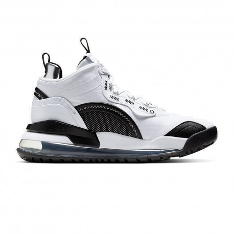 Nike Scarpe Basket Jordan Aerospace 720 Bianco Nero Uomo