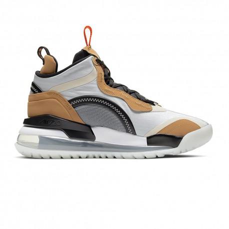 Nike Scarpe Basket Jordan Aerospace 720 Grigio Arancio Uomo
