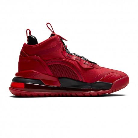 Nike Scarpe Basket Jordan Aerospace 720 Rosso Nero Uomo