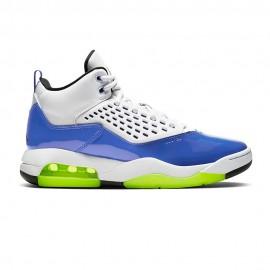 Nike Scarpe Basket Jordan Maxin 200 Blu Bianco Uomo