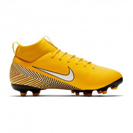 Nike  Bambino Mercurial Njr Superlfy 6 Academy Mg Giallo/