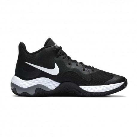 Nike Scarpe Basket Renw Elevate Nero Bianco Uomo