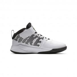 Nike Scarpe Basket Team Hustle D 9 Ps Bianco Nero Bambino