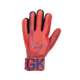 Nike Guanti Calcio Match-FA19 Rosso Nero Uomo