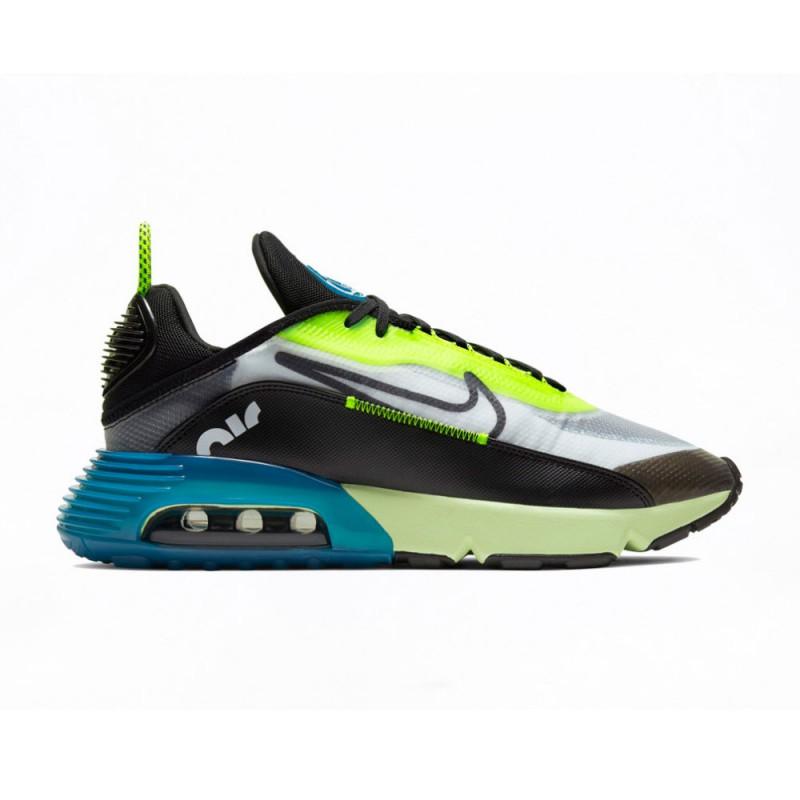 Nike Sneakers Air Max 2090 Nero Giallo Uomo