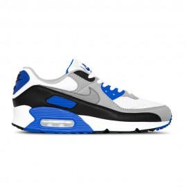 Nike Sneakers Air Max 90 Bianco Blu Uomo