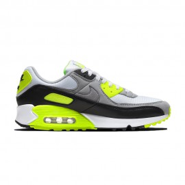 Nike Sneakers Air Max 90 Bianco Giallo Uomo