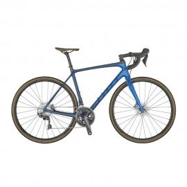Scott Bici Da Corsa Addict 10 Disc Blu Uomo