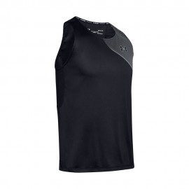 Under Armour Canotta Running Qualifier Iso-Chill Nero Uomo