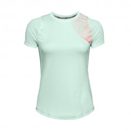 Under Armour Maglia Running Qualifier Iso-Chill Blu Donna