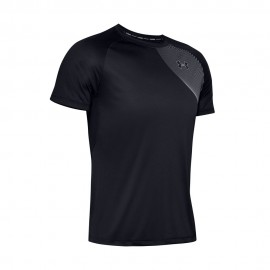 Under Armour Maglia Running Qualifier Iso-Chill Nero Uomo