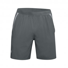 Under Armour Pantaloncini Running 7in Branded Grigio Uomo