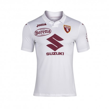 Joma Sport Maglia Calcio Torino Away 20/21 Bianco Bambino