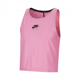 Nike Canotta Running Air Rosasicle Nero Donna