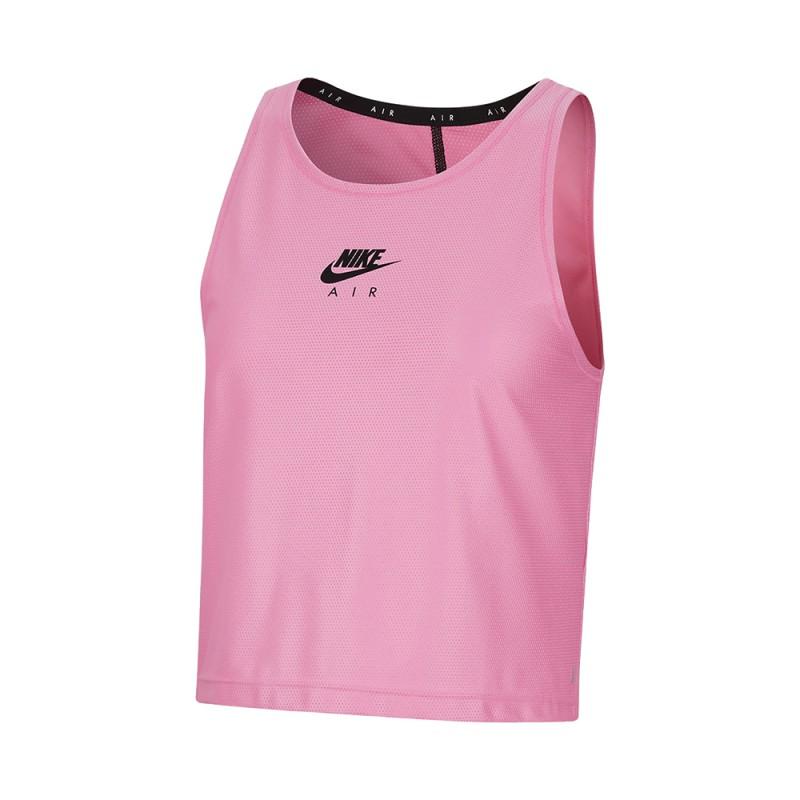 Nike Canotta Running Air Rosasicle Nero Donna