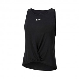 Nike Canotta Running Icnclsh Nero Bianco Donna