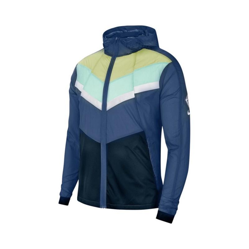 Nike Giacca Running Windrunner Hd Wr Seaweed Asparagus Uomo