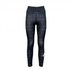 Nike Leggings Running 7/8 Air Nero Volt Donna