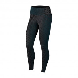 Nike Leggings Running Division Epic Verde Nero Donna