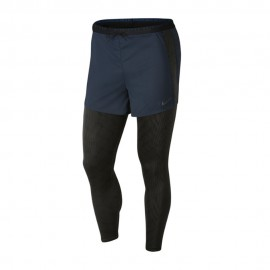 Nike Leggings Running Division Hybrid Deep Ocean Grigio Uomo