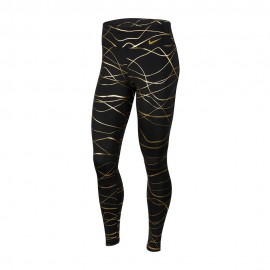 Nike Leggings Running Fast Icnclsh Nero Oro Donna