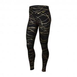 Nike Leggings Running Fast Icnclsh Nero Oro Donna