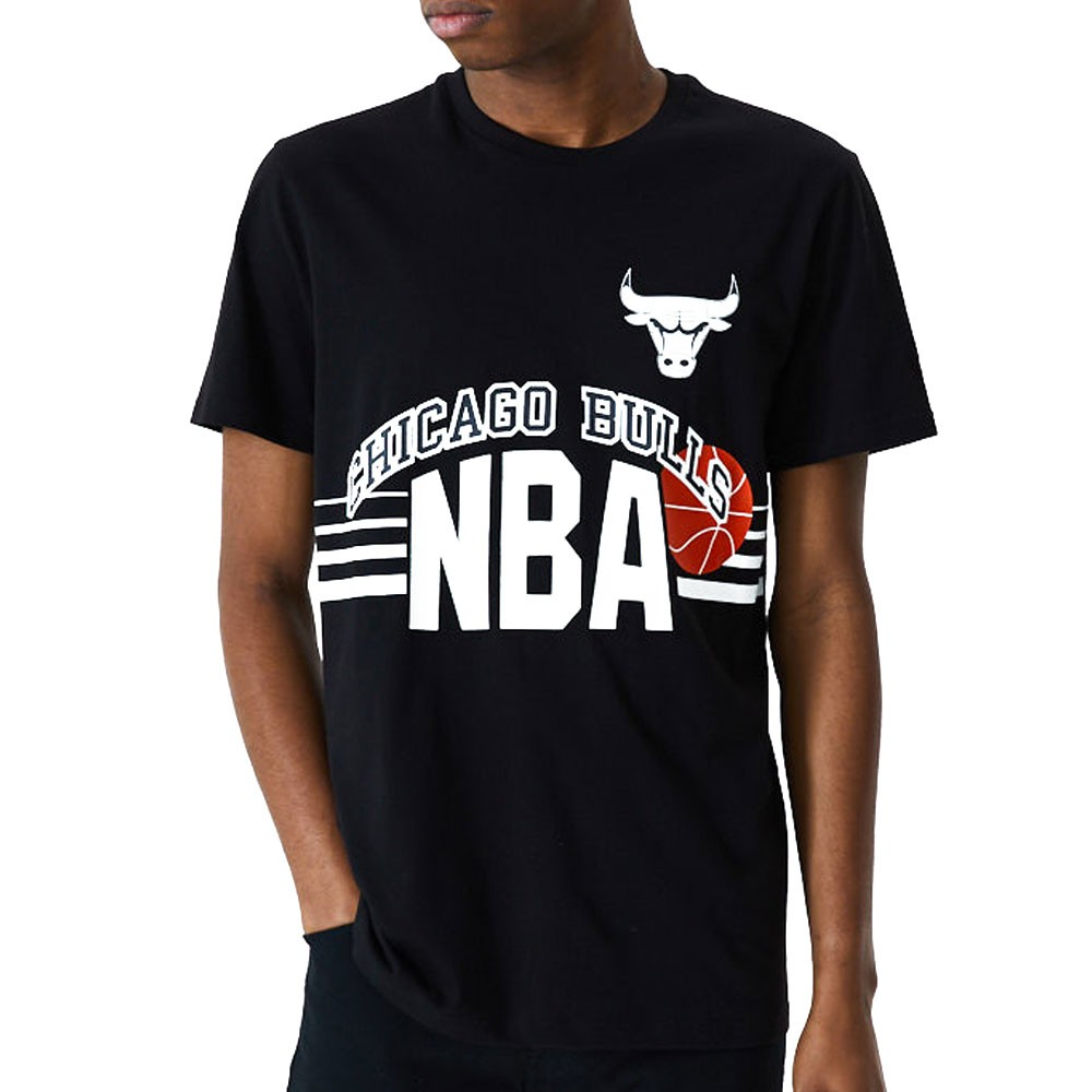 Intimo mm continuate così  New Era Maglia Basket NBA Chigaco Throw Back Nero Uomo - Acquista online su  Sportland