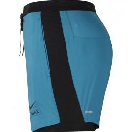 Nike Pantaloncini Running Flx Stride Hyb Verde Nero Uomo