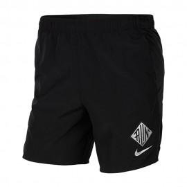 Nike Pantaloncini Running Chllngr Wr Nero Argento Uomo
