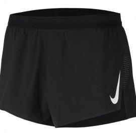 Nike Short Running 2in Aroswft Nero Bianco Uomo