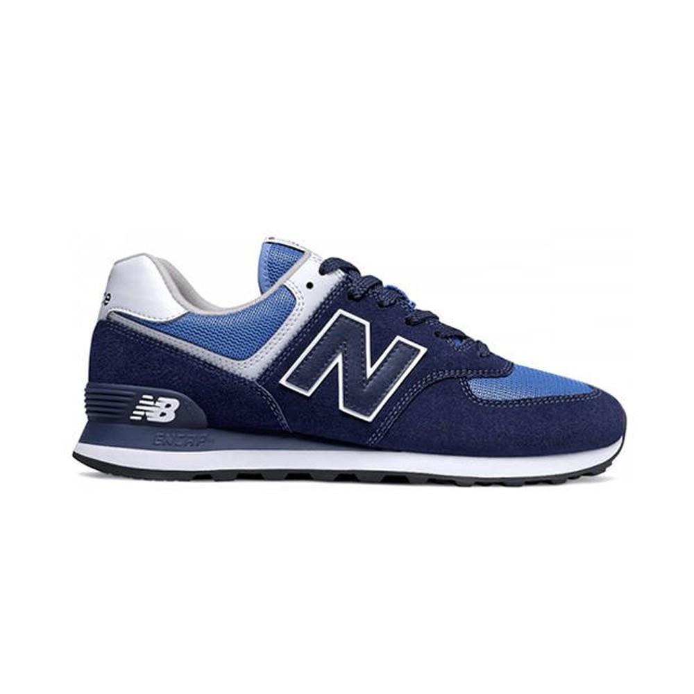 New Balance Sneakers 574 Mesh Suede Royal Blu Uomo - Acquista ...