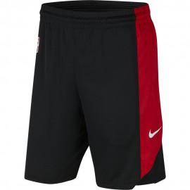 Nike Pantaloncini Basket NBA Chicago Practice 18 Rosso Uomo