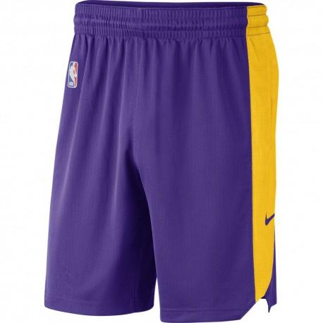 Nike Pantaloncini Basket NBA Lakers Practice 18 Viola Uomo