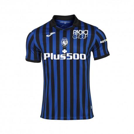 Joma Sport Maglia Calcio Atalanta Home 20/21 Nero Azzurro Bambino